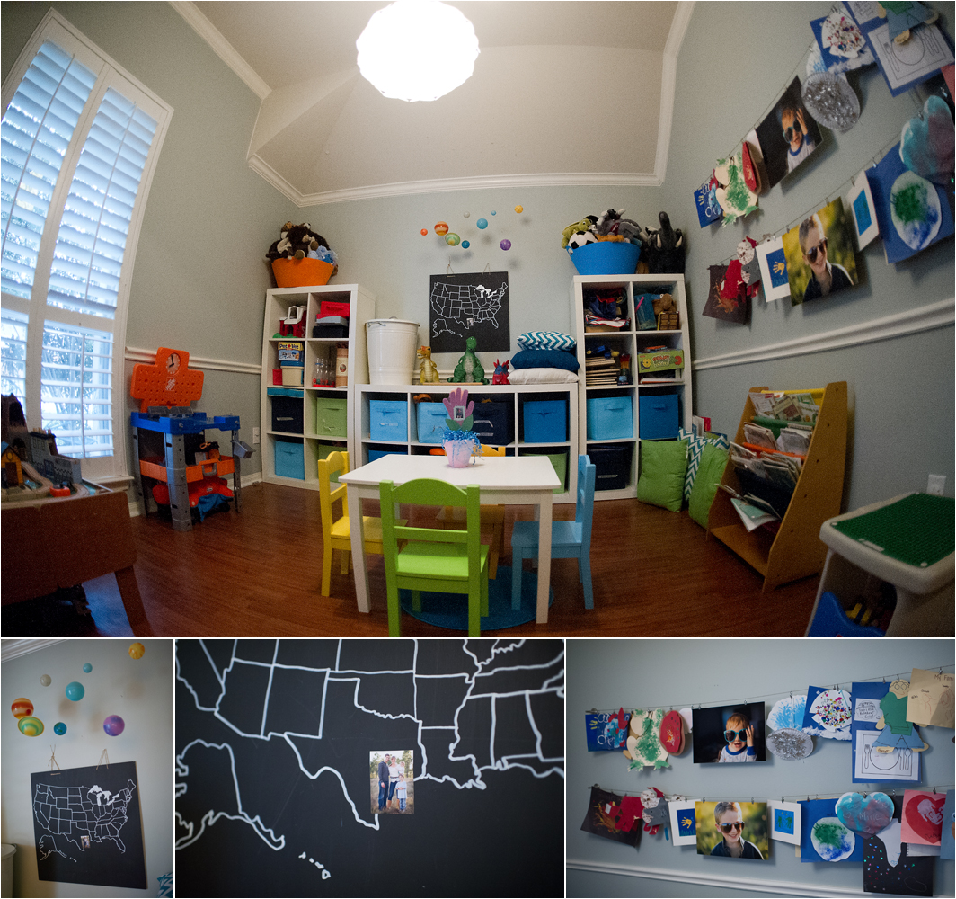 Playroom: Decorating With Pictures
